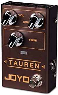 JOYO Tauren R-01 R Series Wide Range High Gain Overdrive Pedal from Clean Boost to Distortion for Electric Guitar Effect (...