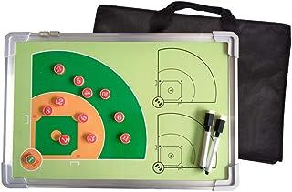 Junta de entrenadores Tablero de alineación Entrenadores de béisbol Ayudante Tablero de banca magnética for alineación y posición en el campo Tablero de imán de béisbol Imán de softball Tablero de 2 l