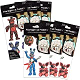 Five Nights at Freddy's Party Supplies Stickers Bundle Set - 12 Sheets FNAF Stickers (Five Nights at Freddy's Party Favors)