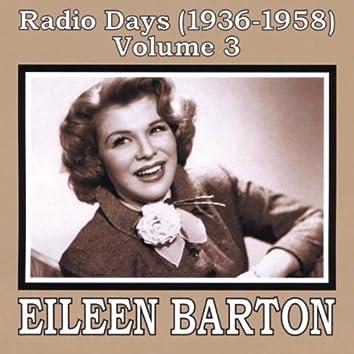 RADIO DAYS (1936-1958), VOL. 3