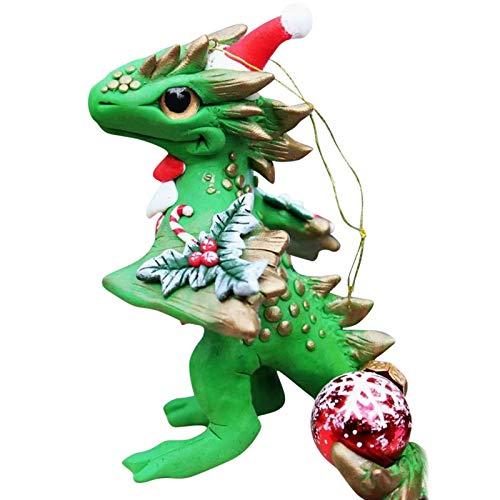 feeilty Adornos navidenos con cordon para decoracion del hogar