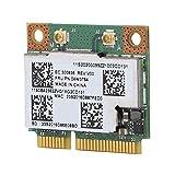 para Broad-com BCM943228HMB Soporte de Tarjeta de Red inalámbrica de Doble Banda 300M 802.11A/B/G/Adaptador de Red inalámbrico Bluetooth4.0 Mini PCI-E para Twist S230u S430 S431 531