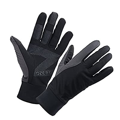 OZERO Winter Thermal Gloves Warm Touch Screen for Driving Cycling Running