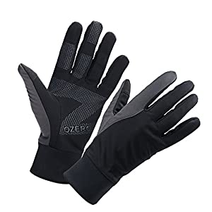 OZERO Mens Winter Thermal Gloves Touch Screen Glove Water Resistant Windproof Warm for Driving...