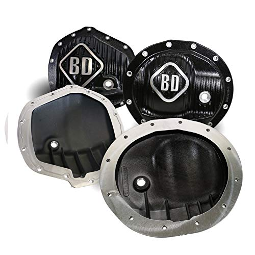 BD DIESEL 1061829 Front and Rear Differential Cover