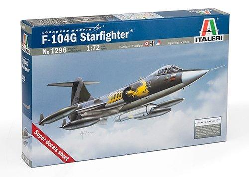 "Italeri 1296 - F-104g Starfighter ""Recce"" Model Kit Scala 1:72"