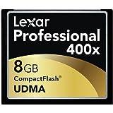 Lexar 8 GB 400x Flash Memory Card LCF8GBCTBNA400