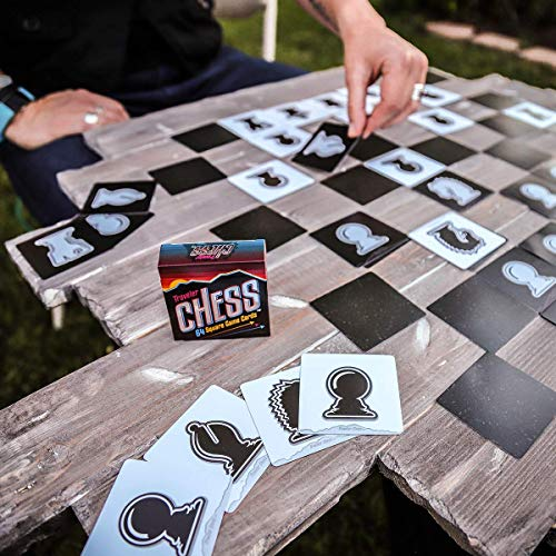 Product Image 3: Pocket Chess Set 64 Flat Game Cards to Take & Play Wherever You Travel!