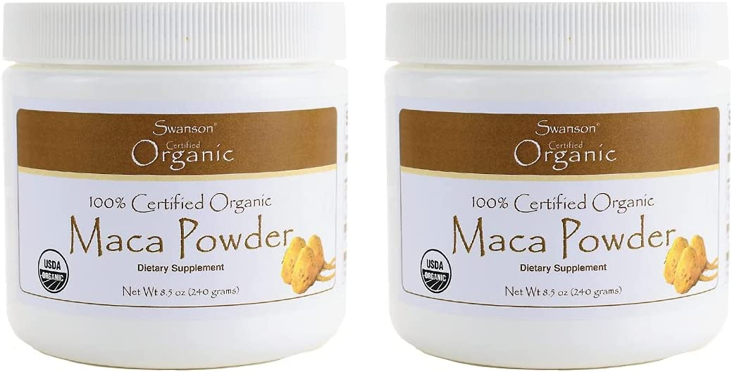 Swanson 100% Certified Max 88% OFF Organic Maca Powder Pwd Sales of SALE items from new works 8.5 g 240 Ounce
