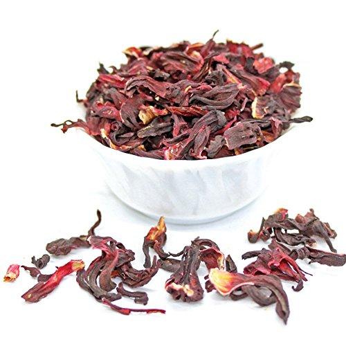 Tealyra - Pure Hibiscus Herbal Tea - Loose Leaf Tea - Organically Grown - Lower Blood Pressure &Amp; Help Weight Loss - Vitamins Rich Tea - Healthy Tea - Caffeine Free (7Oz / 200G)