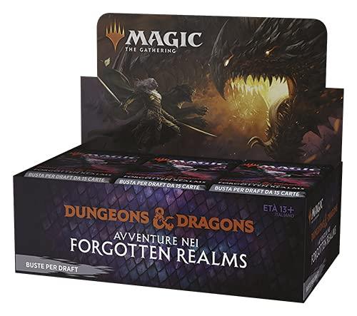 Magic The Gathering Avventure nei Forgotten Realms - Draft Booster Display da 36 Buste (ITA)