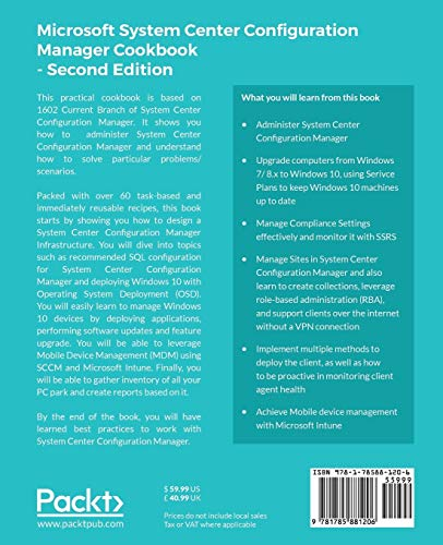 Microsoft System Center Configuration Manager Cookbook -