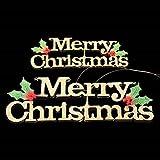Christmas Tree Letter Pendant