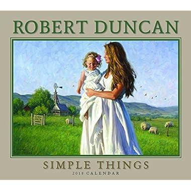 2018 Robert Duncan Simple Things Deluxe Wall Calendar