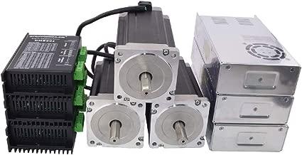 3 Axis CNC Kit Nema 34 Stepper Motor 1841oz-in DM860I Driver 36-110VDC for CNC Router Milling Engraving Machine