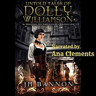 The Untold Tales of Dolly Williamson cover art