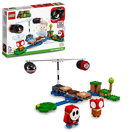 レゴ(LEGO) スーパーマリオ マグナムキラー の ぐるぐる チャレンジ 71366