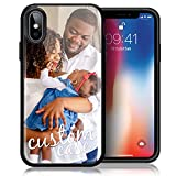 Customized Case for iPhone Xs iPhone X Personalized Custom Picture Phone Case Customizable Slim Soft and Hard Tire Shockproof Protective Phone Cover Case Make Your Own Phone Case (iPhone Xs iPhone X)