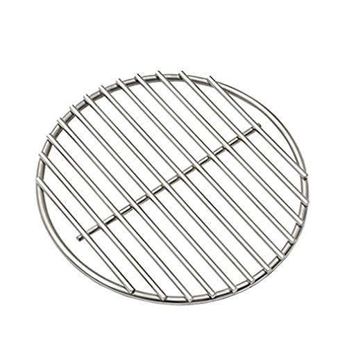 onlyfire Stainless Steel High Heat Charcoal Fire Grate for Kamado Joe Classic and Most Other Kamado...