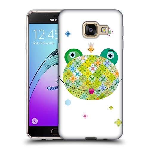 Head Case Designs Offizielle Turnowsky Küss Den Frosch Obstsalat Soft Gel Huelle kompatibel mit Samsung Galaxy A3 (2016)