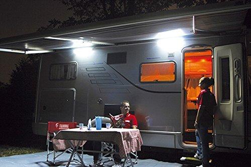 IP652x Tubo Led luz 12V para caravana y autocaravana iluminación para exteriores