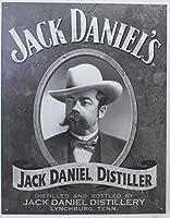 Jack Daniel's Portrait ブリキ看板 輸入品 32×40cm ビンテージ風