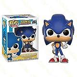 KUANDARMX Funko Pop Super Sonic Hedgehog Super Sound Mouse Mano Oficina Aberdeen Decoración Modelo J...