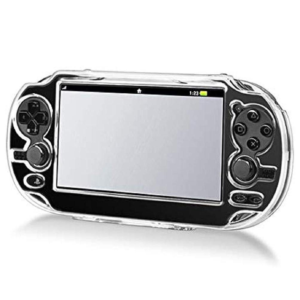 羊の不調和高める新品 SNNC-JP Play Station Vita PCH-1000用 プロテクト ケース 保護 カバー クリア プロテクトフレーム for PSV1000