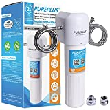 Under Sink Water Filter System NSF/ANSI 42 Certified 20K Gallons High Capacity, Direct Connect Under Counter Drinking Water Filtration System, Idea for Home Kitchen Undersink, Removes 99.99% Chlorine