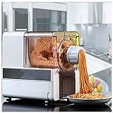 Macchina Per Pasta Elettrica,Con 8 Tipi Di Stampo Per Noodle E Scatola Di Immagazzinaggio Stampo Nascosta Facile Da Pulire