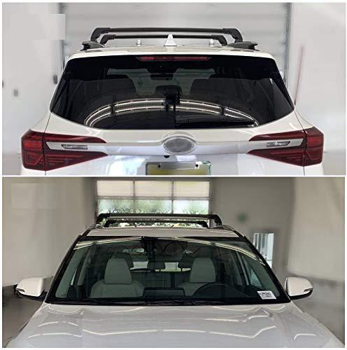 SAREMAS US Black roof Cargo Racks for KIA Seltos 2020 2021 2022 Cross Bars Roof Rack Rail Luggage Carrier Lockable