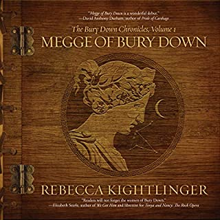 Megge of Bury Down  audiobook cover art