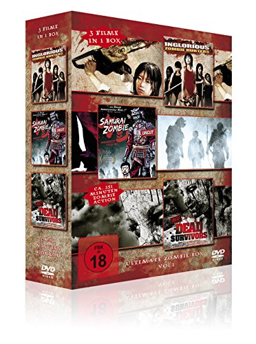 Ultimate Zombie Box Vol. 1 (Inglorious Zombie Hunters - Samurai Zombie - Dead Survivors) [3 DVDs] - Uncut