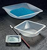 Plastic Square Weigh Boats Small Dish 100pk