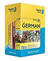 ロゼッタストーン ドイツ語 レベル 1-5 + Rosetta Stone 24ヶ月 Online Subscription + 2Books セット【並行輸入品】