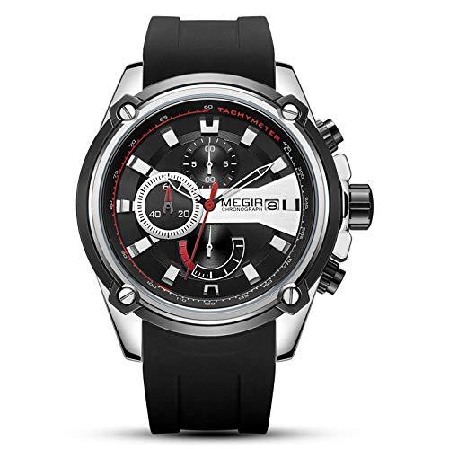 Relojes de Negocios de Moda analógicos Impermeables para Hombres-B