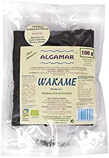 Algas Wakame 100 Gr de Algamar