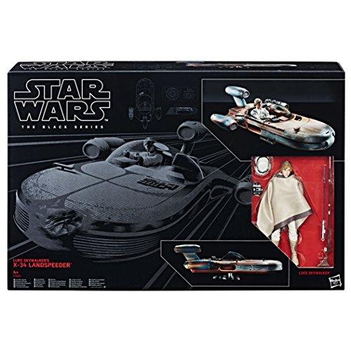 Star Wars 8 BS Luke's X-34 Landspeeder, Multicolor (Hasbro C1426EU4)