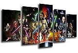 Cuadro Fotográfico Star Wars, Darth Vader Tamaño total: 165 x 62 cm XXL