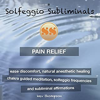 Pain Relief, Ease Discomfort, Natural Anesthetic Healing audiobook cover art