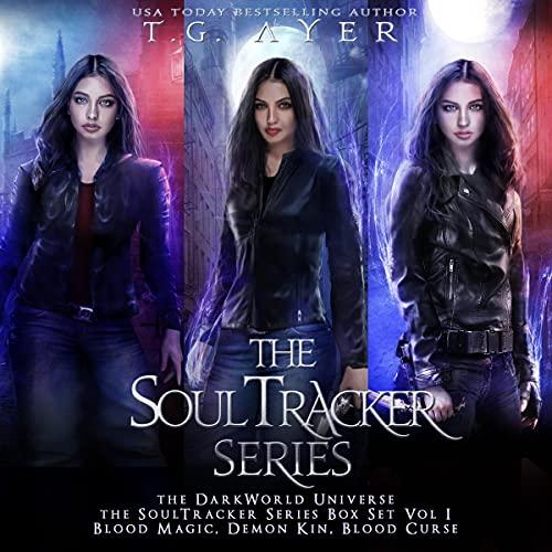 The DarkWorld SoulTracker Series Box Set Vol I Audiobook By T. G. Ayer cover art