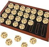 DSZZ Health Teglia da Forno in Silicone Teglia Antiaderente Bakeware Mat Macaron Biscotto Muffa della Torta del Pane per Accessori da Forno Strumenti di Pasticceria,30 * 40cm