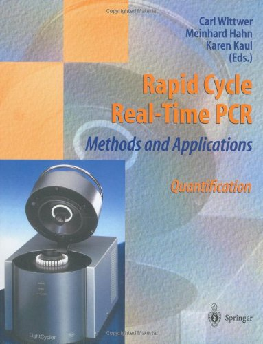Rapid Cycle Real-Time PCR — Methods and Applications: Quantification