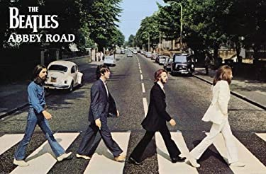 The Beatles (Abbey Road) Music Poster Print - 36x24