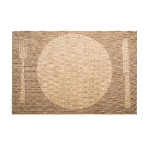 LACOR Set de Table Beige 45 x 30 cm