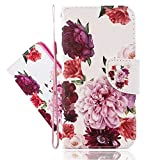 IMEIKONST Painted Case for Y6 Pro 2019 / Enjoy 9E, Flip
