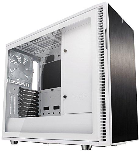 FRACTAL DESIGN Define R6 Custodia in vetro temperato ATX PC - Bianco