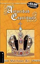 Autoridad Espiritual (Spanish Edition)