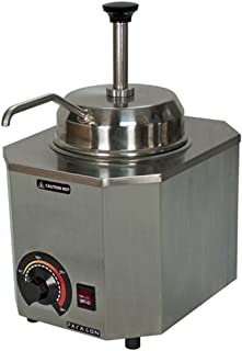 Paragon Pro-Deluxe 2028B Pump Warmer for Professional Concessionaires Requiring Commercial Quality & Construction 500W Accommodates #10 Can