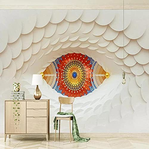 Papel Tapiz Fotográfico Personalizado Moderno 3D Estéreo Mosaico Blanco Mural Sala De Estar Dormitorio Fondo Creativo Decoración De Pared Papel Tapiz 3D